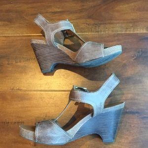 Franco Sarto Wedge Sandal Shoe